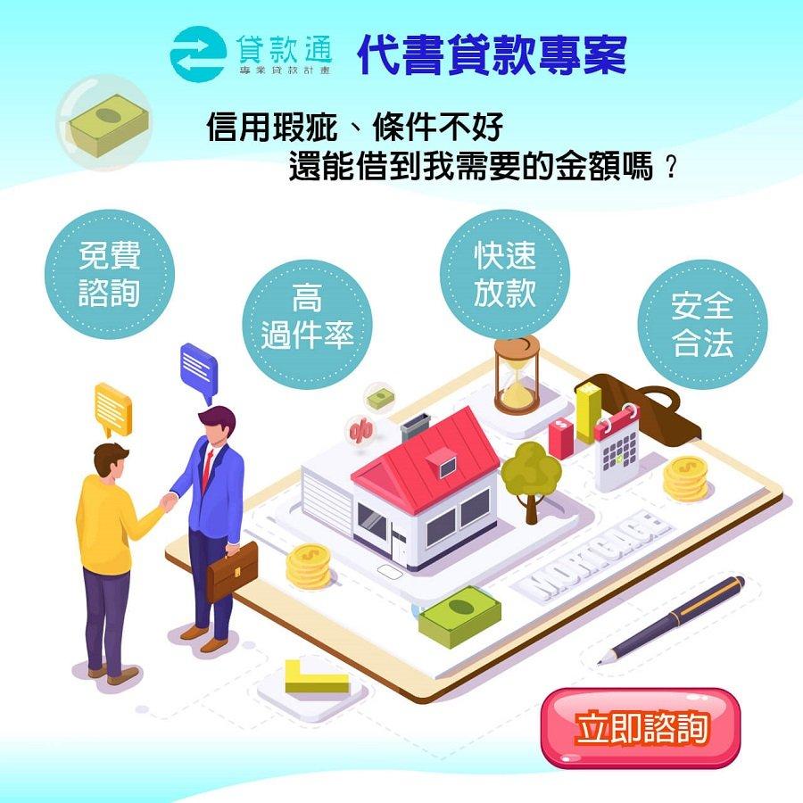 代書貸款專案內容說明